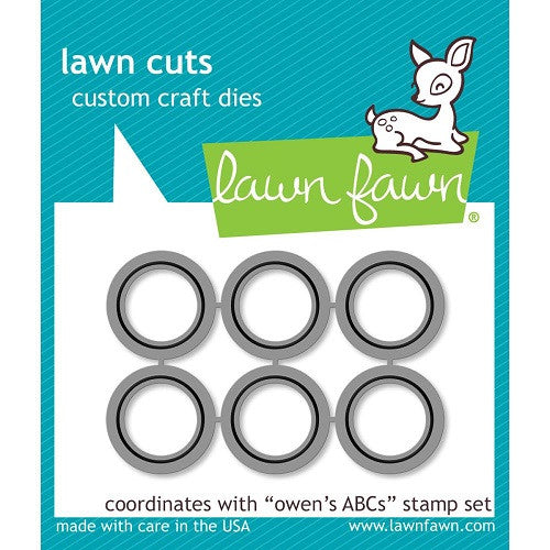 Lawn Fawn Dies Lawn Cuts Custom Craft Die Owen's ABC's LF902 | Maple Treehouse