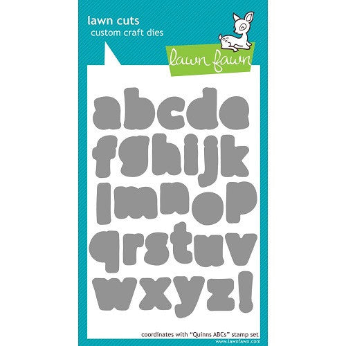 Lawn Fawn Dies Lawn Cuts Custom Craft Die Quinn's ABC's LF490 | Maple Treehouse