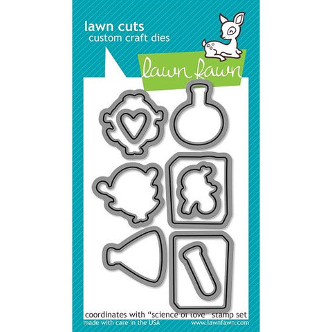 Lawn Fawn Dies Lawn Cuts Custom Craft Die Science Of Love LF599 | Maple Treehouse