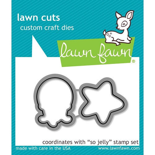 Lawn Fawn Dies Lawn Cuts Custom Craft Die So Jelly LF900 | Maple Treehouse