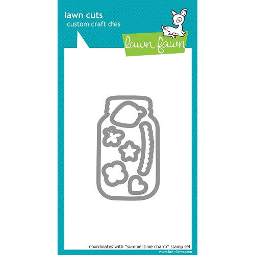 Lawn Fawn Dies Lawn Cuts Custom Craft Die Summertime Charm LF493 | Maple Treehouse