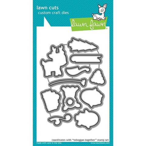 Lawn Fawn Dies Lawn Cuts Custom Craft Die Toboggan Together LF977 | Maple Treehouse