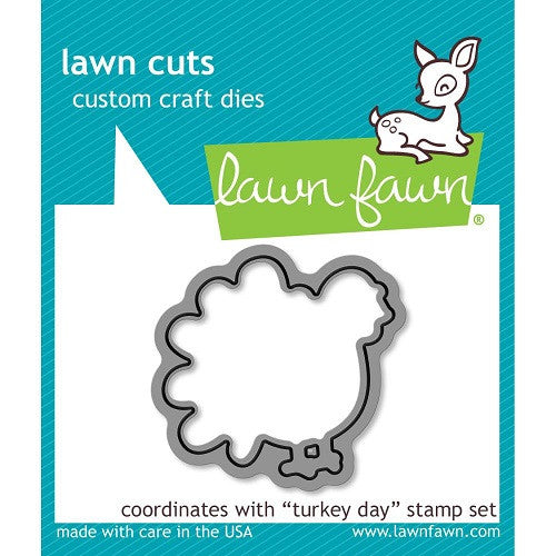 Lawn Fawn Dies Lawn Cuts Custom Craft Die Turkey Day LF968 | Maple Treehouse
