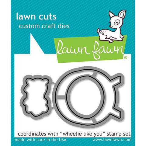 Lawn Fawn Dies Lawn Cuts Custom Craft Die Wheelie Like You LF839 | Maple Treehouse