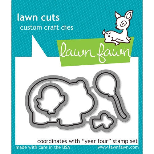 Lawn Fawn Dies Lawn Cuts Custom Craft Die Year 4 LF660 | Maple Treehouse