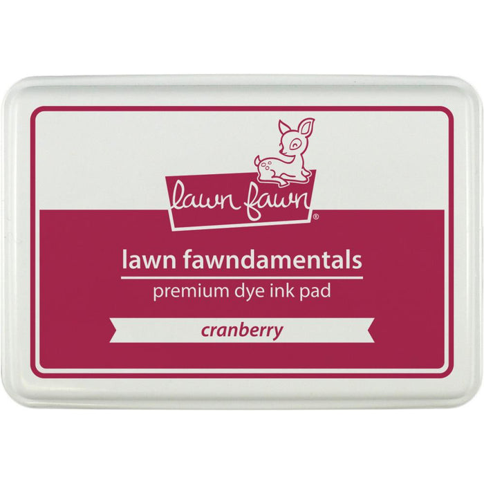 Lawn Fawn Dye Ink Pad Cranberry LF-INK 859 | Maple Treehouse