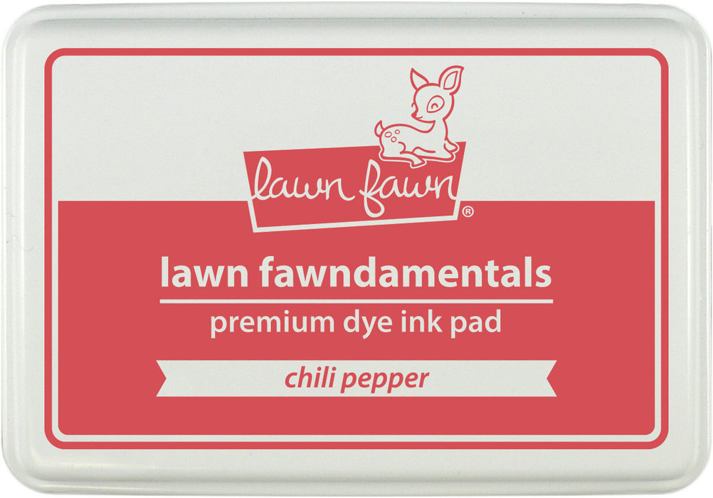 Lawn Fawn Dye Ink Pad Chilli Pepper LF-INK 1194 | Maple Treehouse