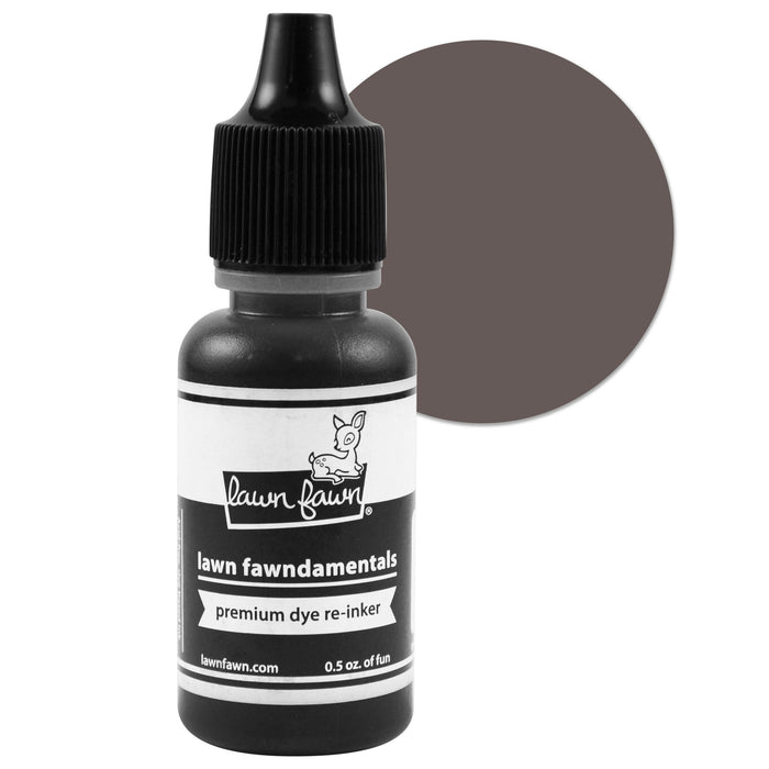 Lawn Fawn Dye Ink Reinker Soot LF1080 | Maple Treehouse