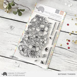 "Mama Elephant 4"" x 6"" Photopolymer Clear Stamps Botanic Thanks"