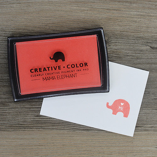 Mama Elephant Pigment Ink Pads Apricot | Maple Treehouse