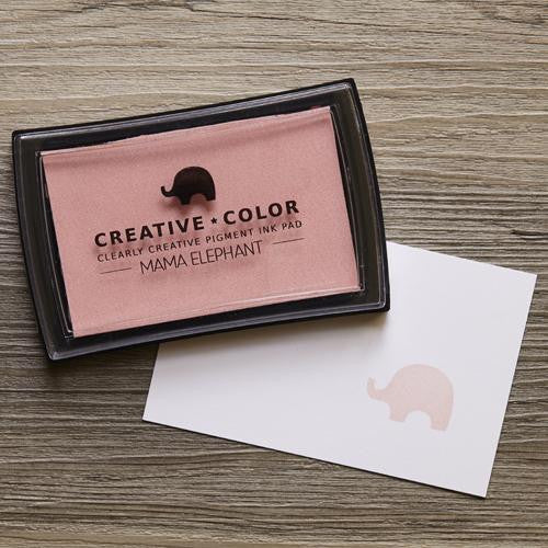 Mama Elephant Pigment Ink Pads Blush | Maple Treehouse