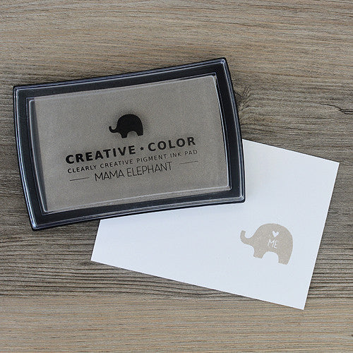 Mama Elephant Pigment Ink Pads Brown Sugar | Maple Treehouse