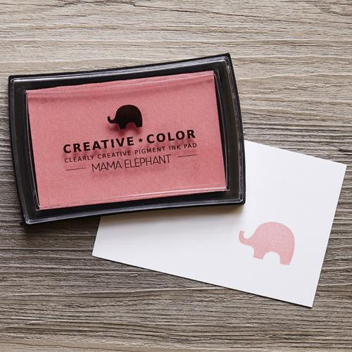 Mama Elephant Pigment Ink Pads Bubblegum | Maple Treehouse