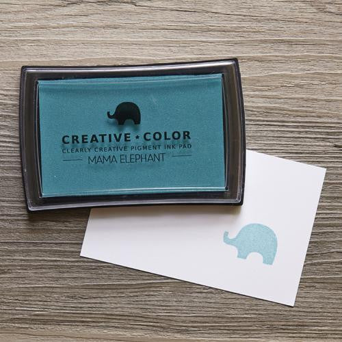 Mama Elephant Pigment Ink Pads Ocean | Maple Treehouse
