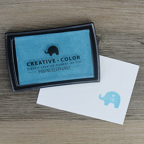 Mama Elephant Pigment Ink Pads Pacific Blue | Maple Treehouse