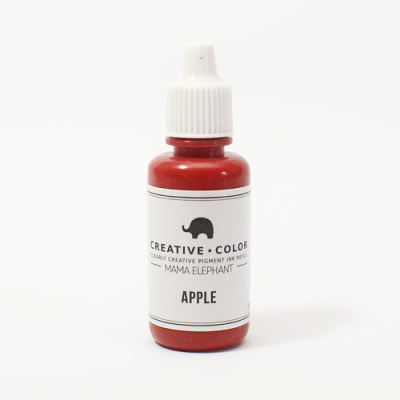 Mama Elephant Pigment Ink Refills Apple | Maple Treehouse