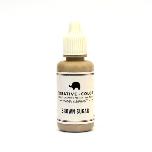 Mama Elephant Pigment Ink Refills Brown Sugar | Maple Treehouse