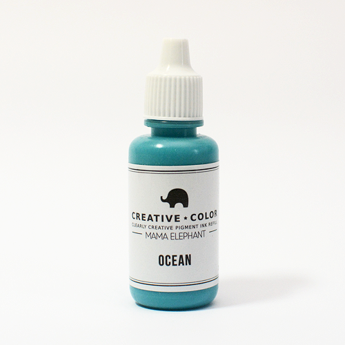Mama Elephant Pigment Ink Refills Ocean | Maple Treehouse