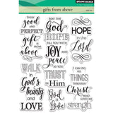 "Penny Black Clear Stamps 5""X7"" Gifts From Above PB30429"
