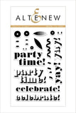 "Altenew 4"" x 6"" Clear Stamp Party Time!"