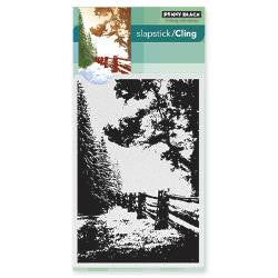 "Penny Black Cling Stamp 5"" x 7"" Hidden Lane PB40416 