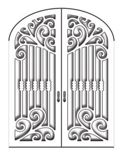 "Penny Black Creative Dies Gothic Gate 2.75"" x 3.5"" 51-146 