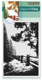 Penny Black Slapstick Cling Stamp Hidden Lane 40-416 | Maple Treehouse