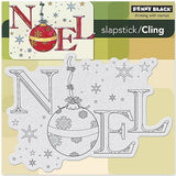 Penny Black Slapstick Cling Stamp Ornamental Noel 40-257 | Maple Treehouse