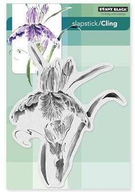Penny Black Slapstick Cling Stamp Pure Iris 40-332 | Maple Treehouse