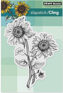 Penny Black Slapstick Cling Stamp Sunny Pair 40-312 | Maple Treehouse