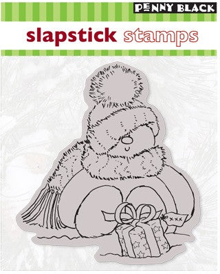 Penny Black Slapstick Cling Stamp Sweet Snowman 40-006 | Maple Treehouse