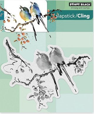 Penny Black Slapstick Cling Stamp The Sweetest Sound 40-329 | Maple Treehouse