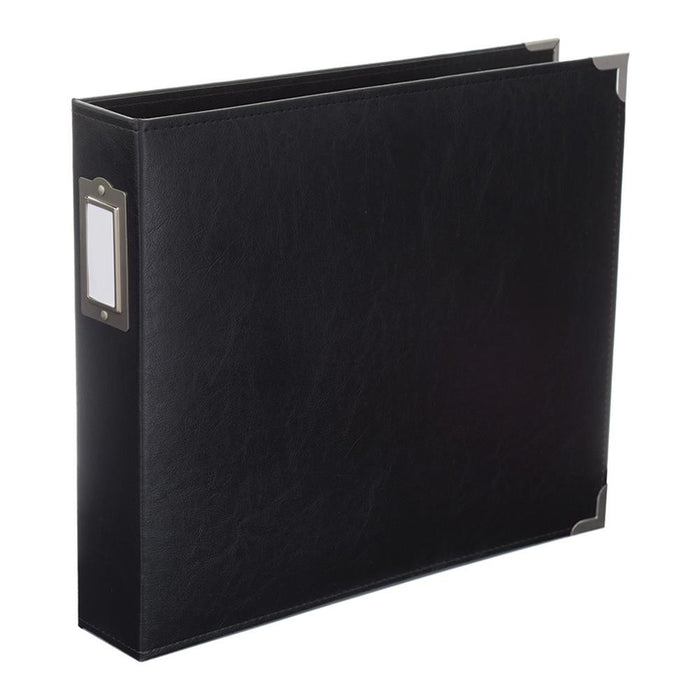 "Project Life Classic Faux Leather D-Ring Album 12"" x 12"" Midnight 380400 