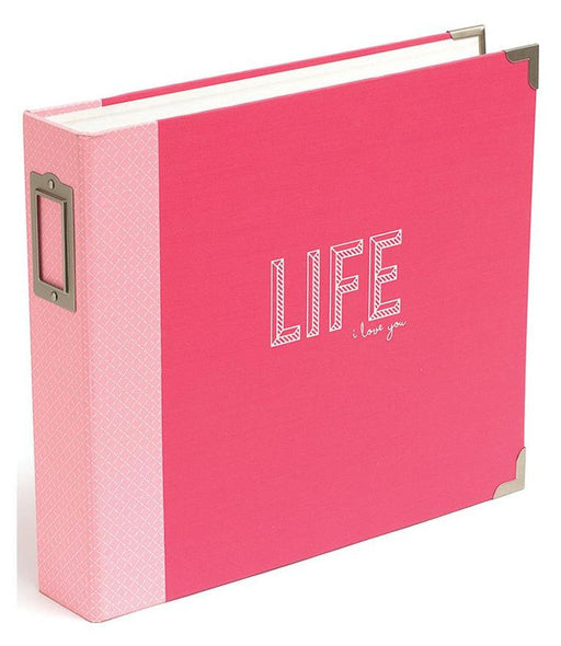 "Project Life D-Ring Album 12"" x 12"" Coral Edition 380258 