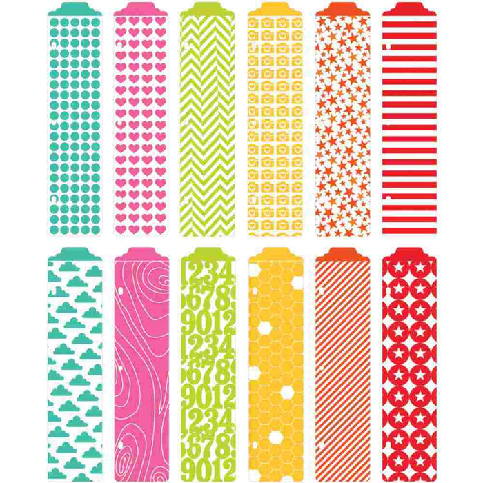Project Life Designer Dividers 12/Pkg Honey Edition 380033 | Maple Treehouse