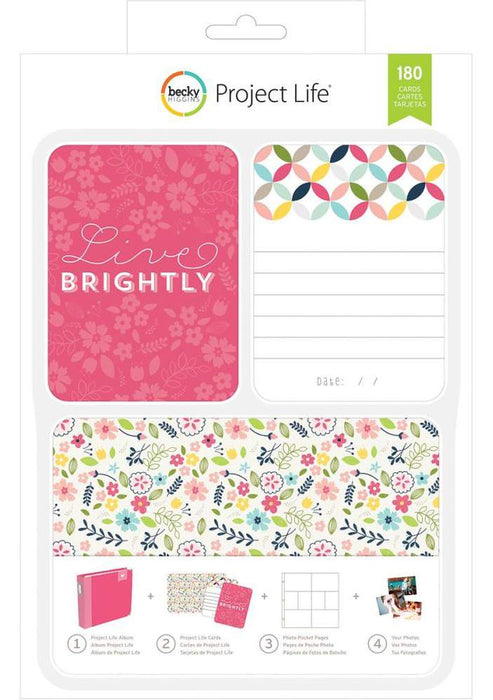 Project Life Kit Live Brightly 380332 | Maple Treehouse