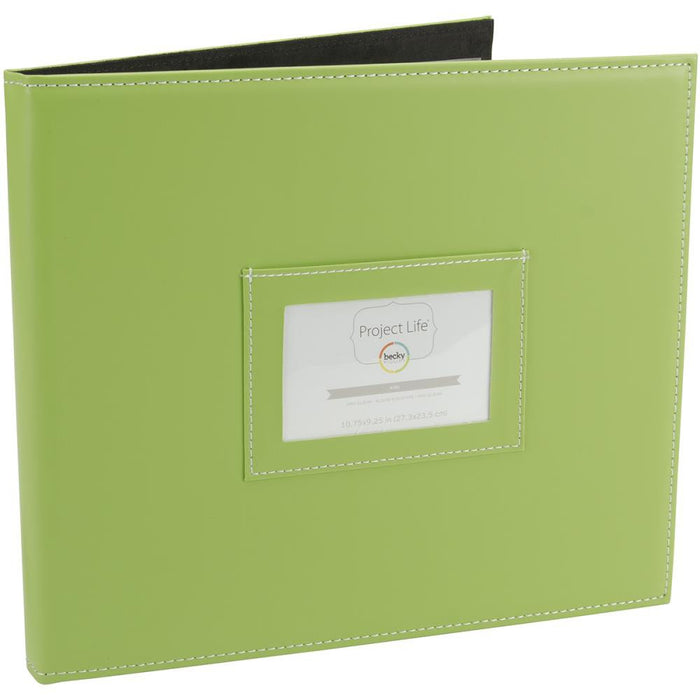 "Project Life Mini Album 10.5"" x 9.25"" Kiwi 380133 