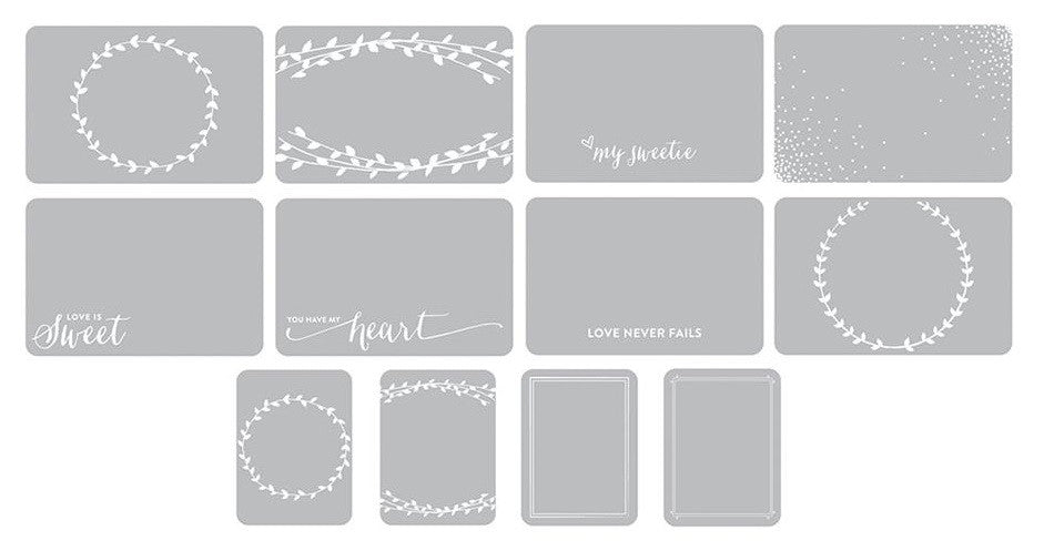 Project Life Photo Overlays 12/Pkg Southern Weddings Edition 380470 | Maple Treehouse