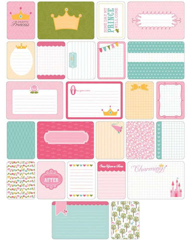 Project Life Themed Cards 40/Pkg Princess 380255 | Maple Treehouse