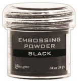 Ranger Embossing Powder 1oz Jar Black EPJ 37347 | Maple Treehouse