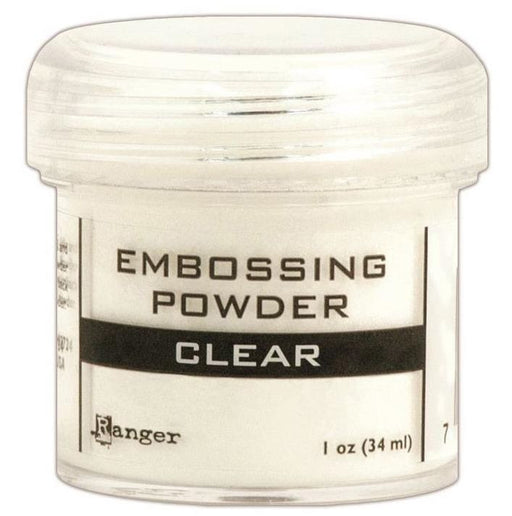 Ranger Embossing Powder 1oz Jar Clear EPJ 37330 | Maple Treehouse