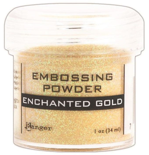 Ranger Embossing Powder 1oz Jar Enchanted Gold EPJ 37491 | Maple Treehouse