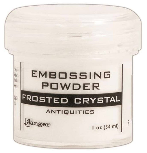 Ranger Embossing Powder 1oz Jar Frosted Crystal EPJ 37576 | Maple Treehouse