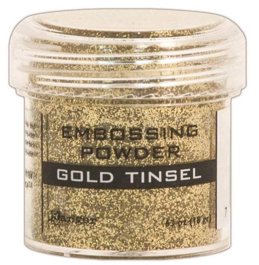 Ranger Embossing Powder 1oz Jar Gold Tinsel EPJ 41047 | Maple Treehouse