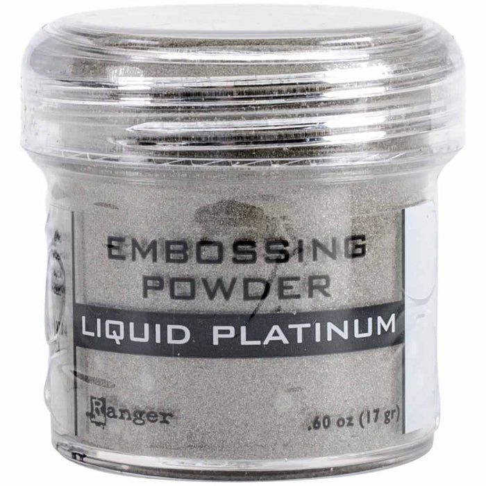 Ranger Embossing Powder 1oz Jar Liquid Platinum EPJ 37484 | Maple Treehouse