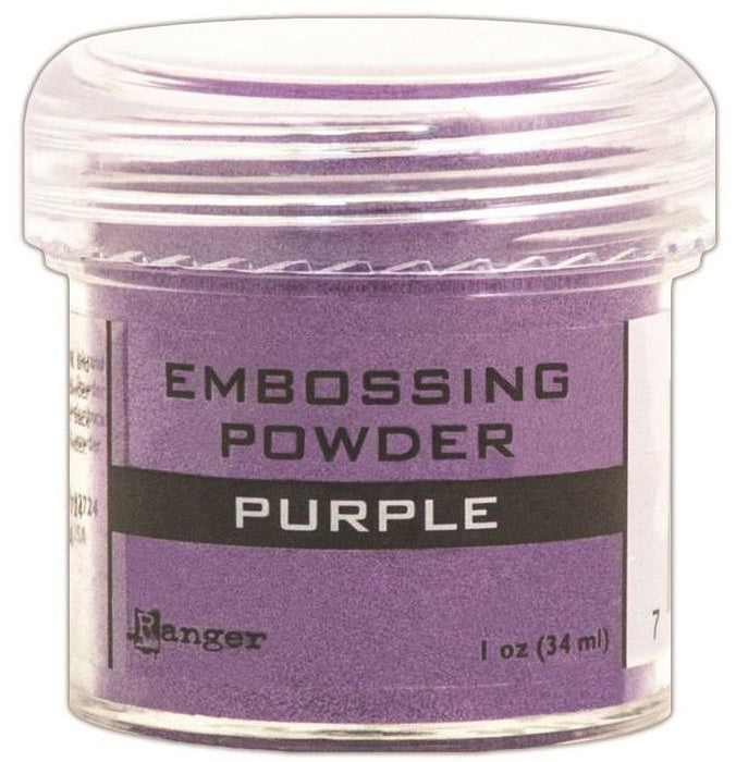 Ranger Embossing Powder 1oz Jar Purple EPJ 36623 | Maple Treehouse