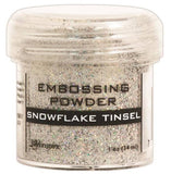 Ranger Embossing Powder 1oz Jar Snowflake Tinsel EPJ 37453 | Maple Treehouse