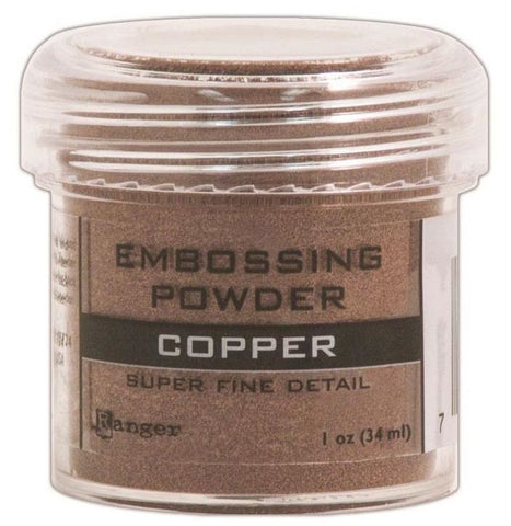 Ranger Embossing Powder 1oz Jar Super Fine Copper EPJ 36661 | Maple Treehouse