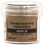 Ranger Embossing Powder 1oz Jar Super Fine Gold EPJ 37408 | Maple Treehouse