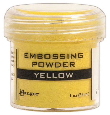 Ranger Embossing Powder 1oz Jar Yellow EPJ 36654 | Maple Treehouse